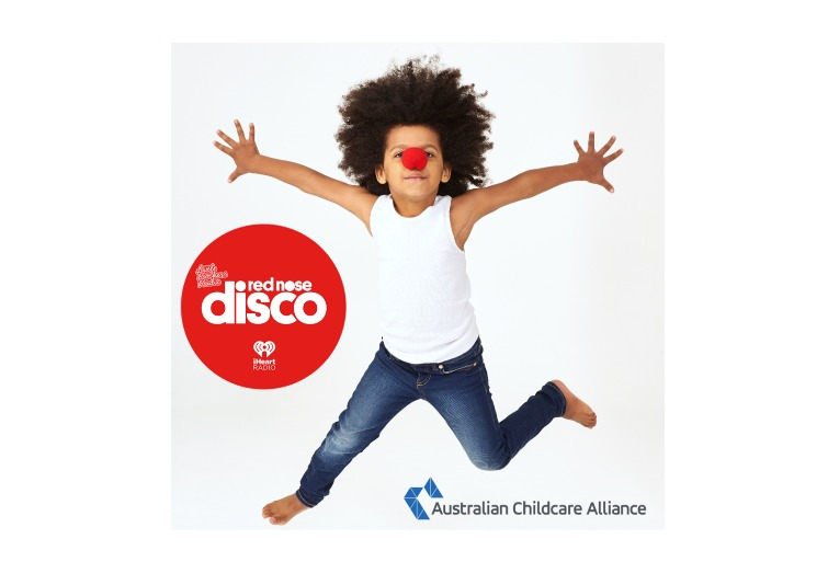 We're proud to support the Little Rockers Red Nose Disco!