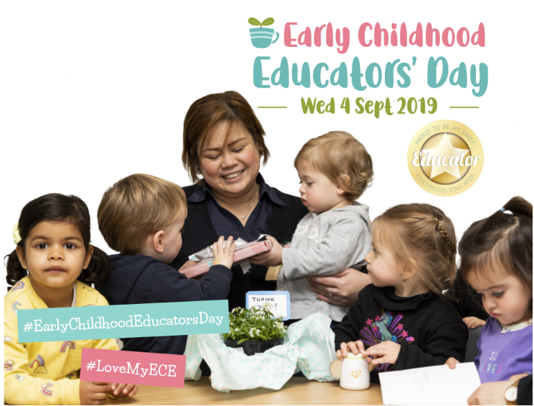 We've launched this year's resources for Early Childhood Educators' Day!