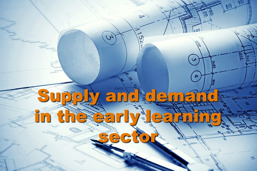 We're looking at patterns in the under & oversupply of early learning services across Australia