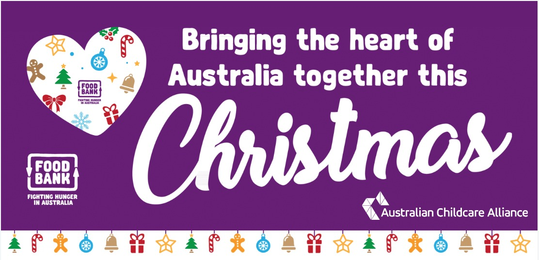 Bringing the heart of Australia together this Christmas Colour tile ACA logo