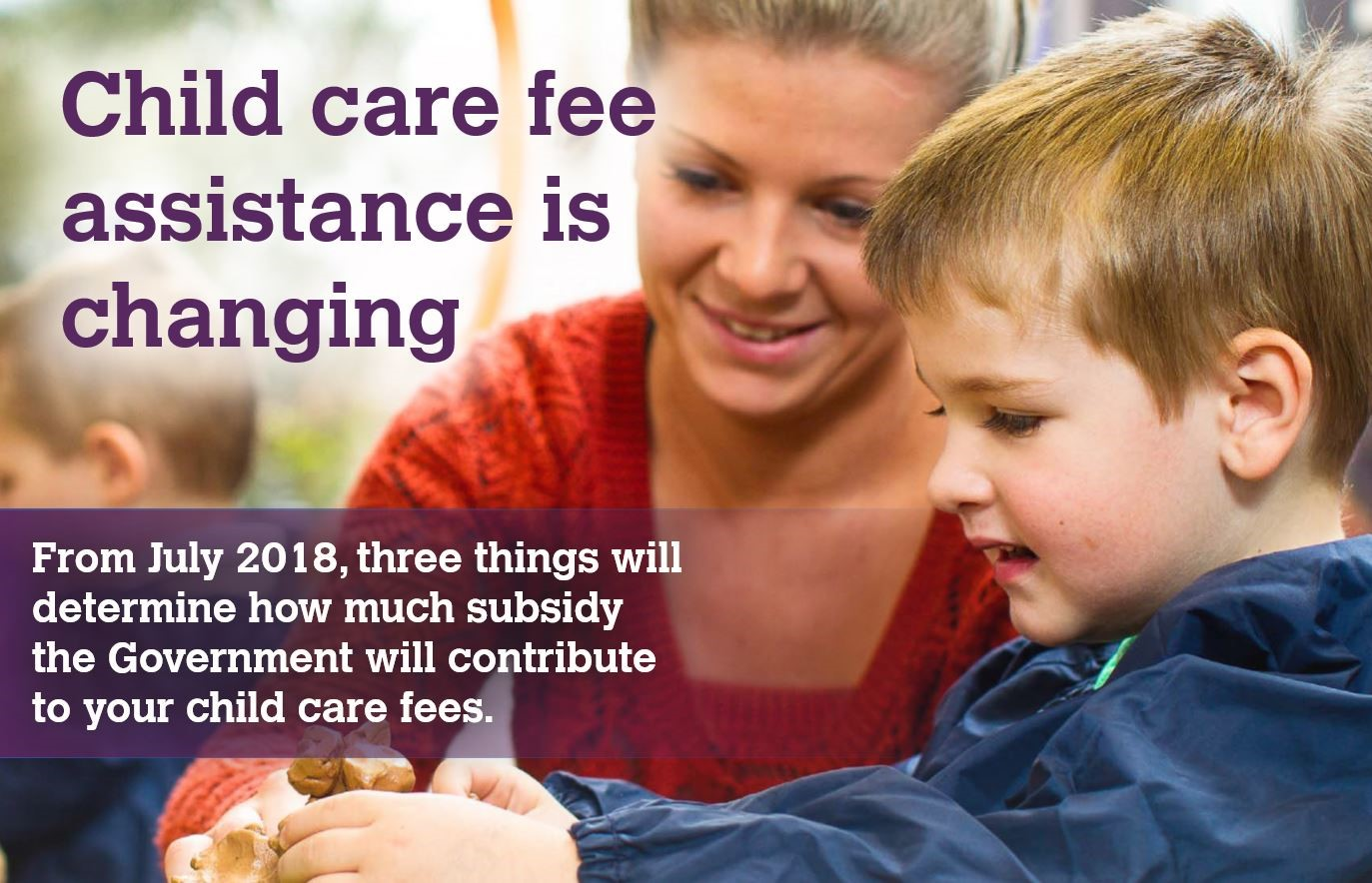 Child Care Fee Assistance is Changing