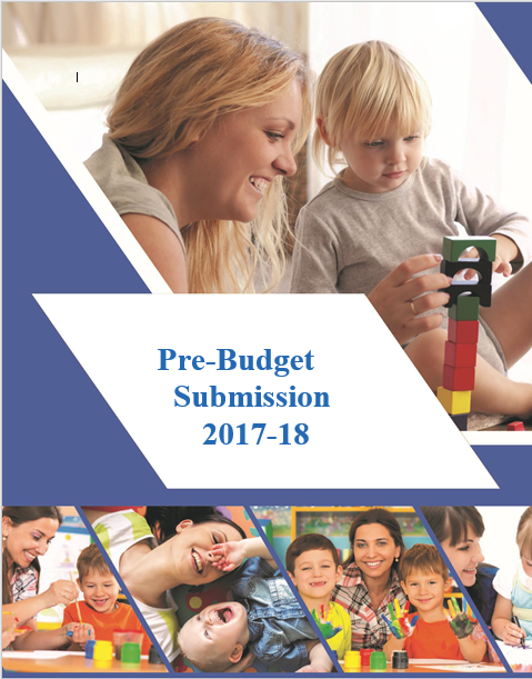 Pre Budget Submission 2017 2018 cover